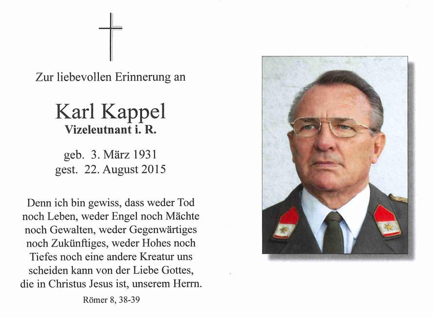 Karl Kappel