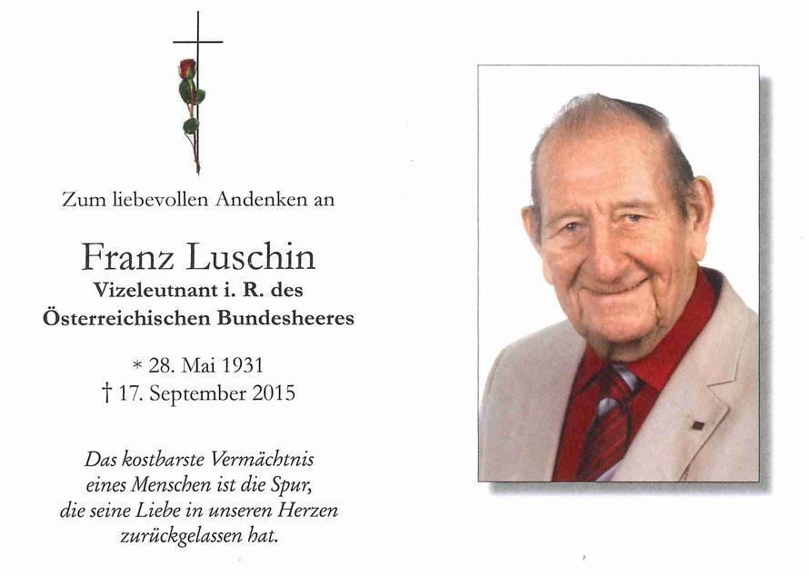 Franz Luschin