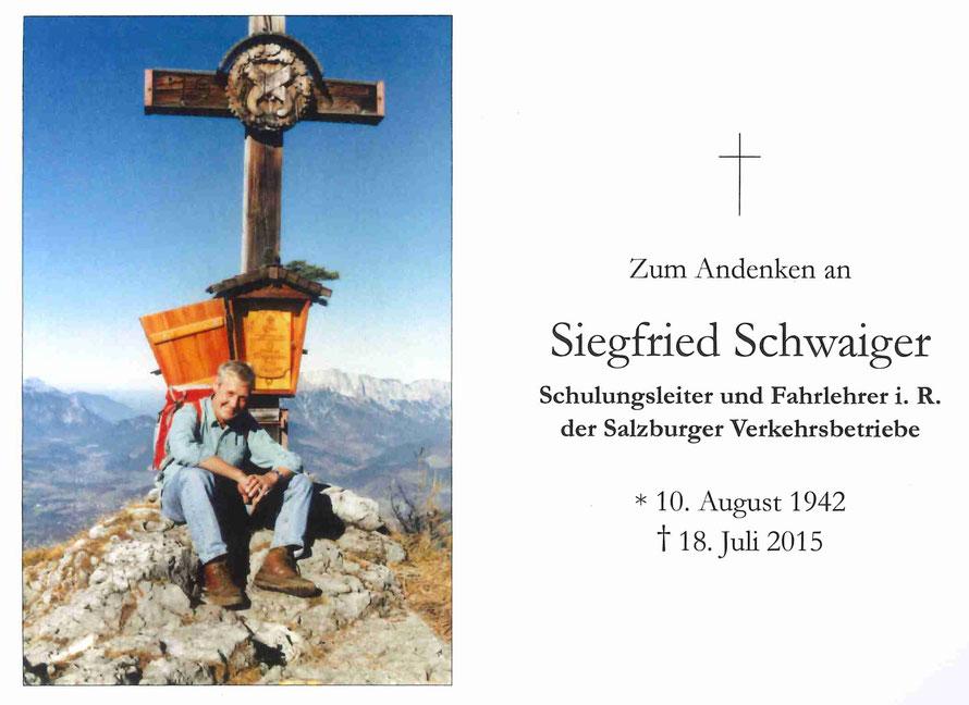 Siegfried Schwaiger