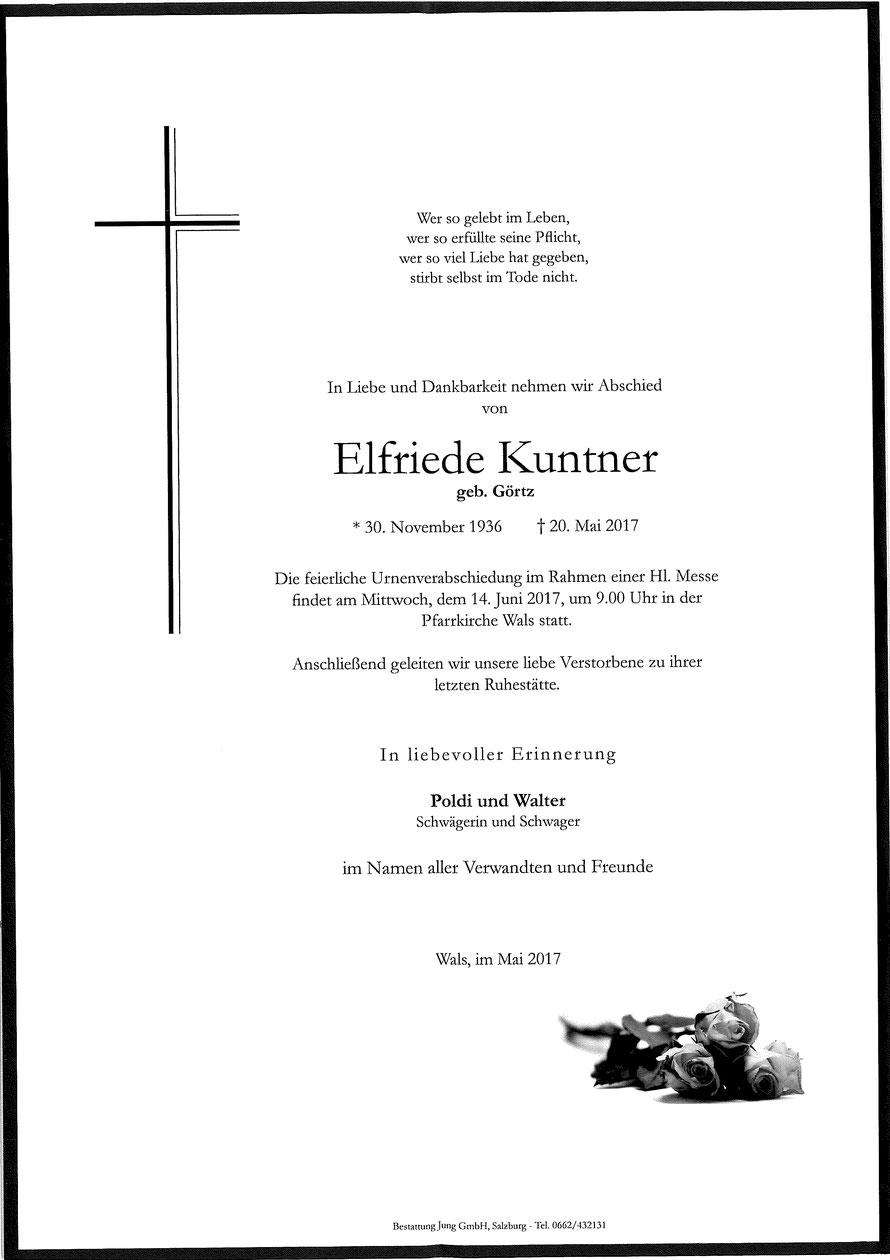 Elfriede Kuntner