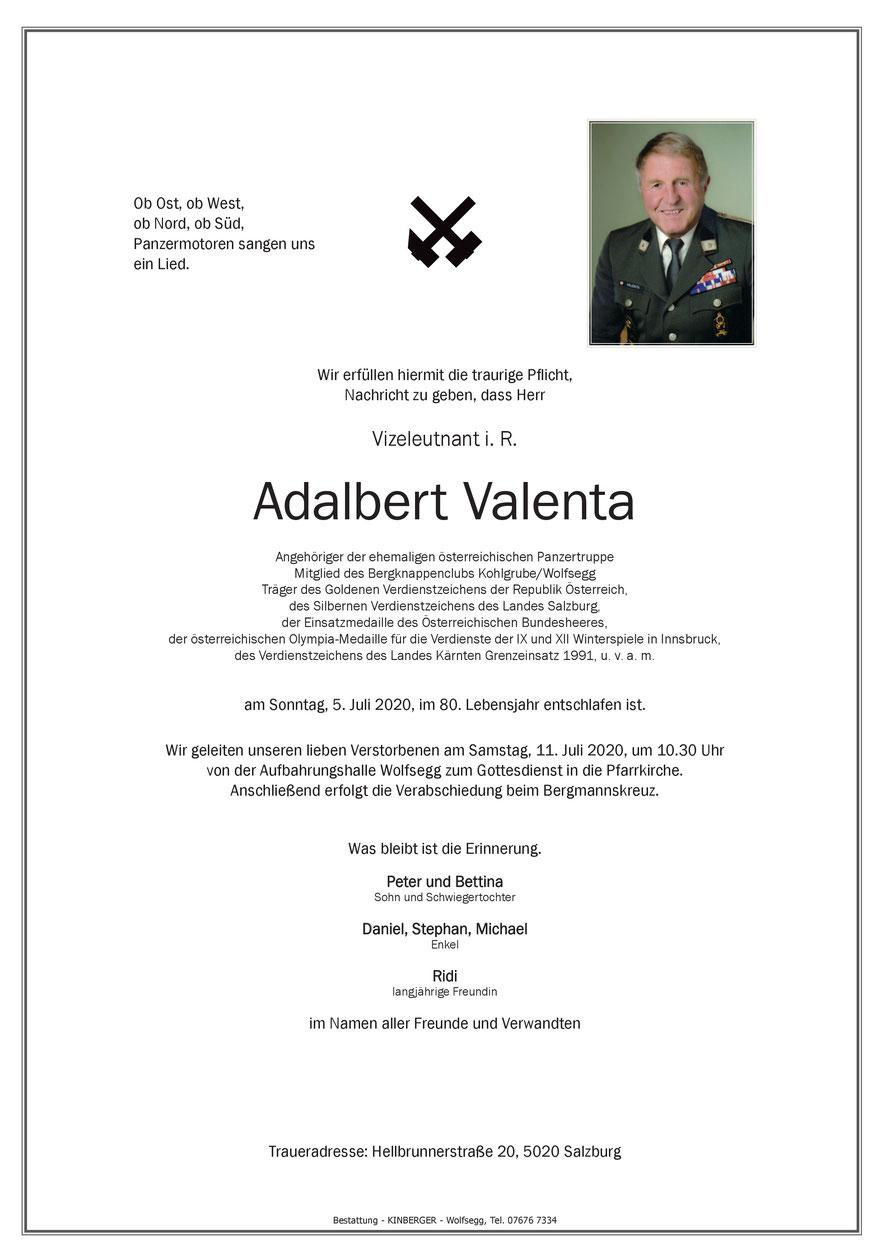 Adalbert VALENTA