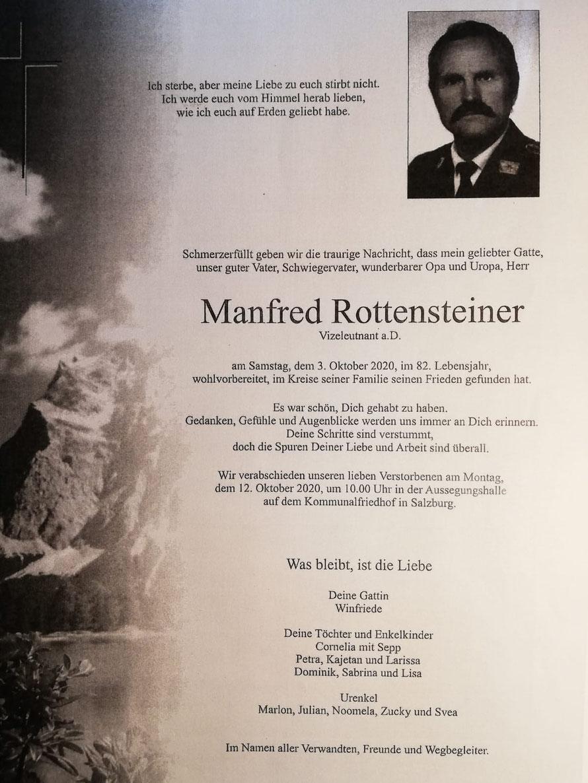 Manfred ROTTENSTEINER