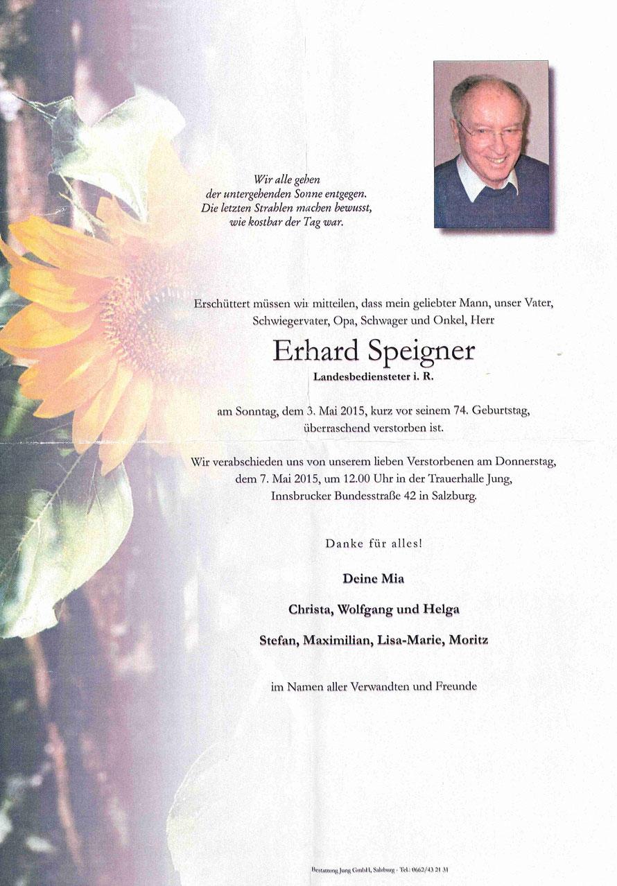 Erhard Speigner