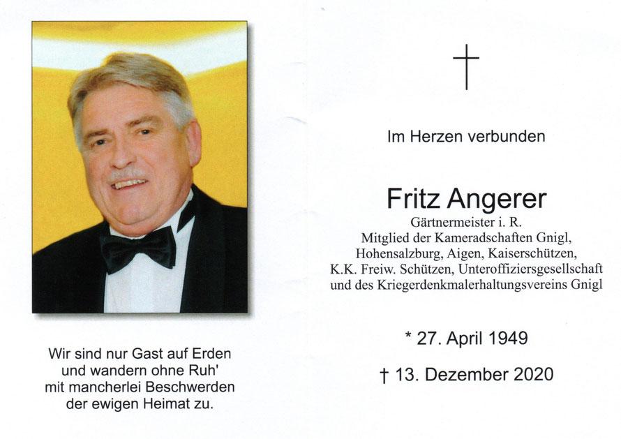 Fritz ANGERER