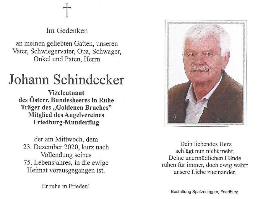 Johann SCHINDECKER