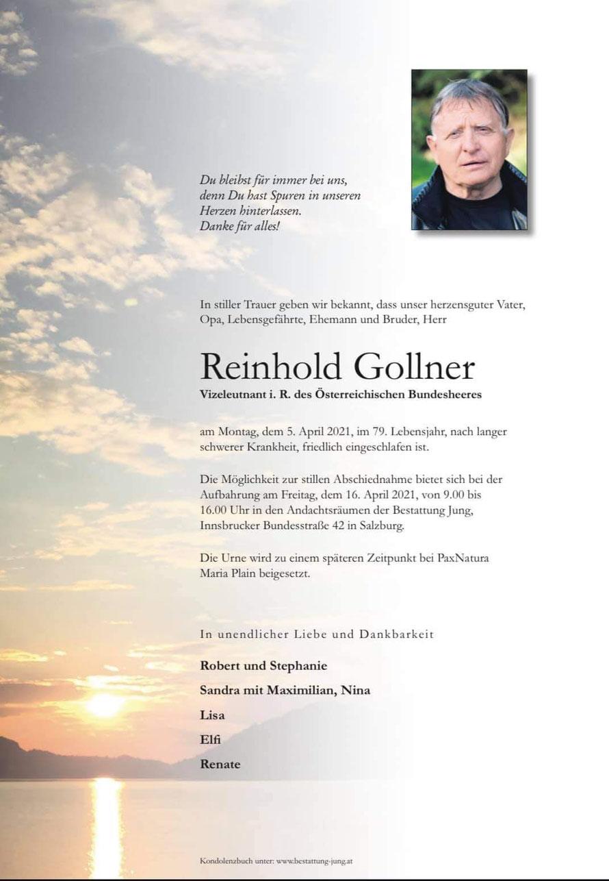 Reinhold GOLLNER