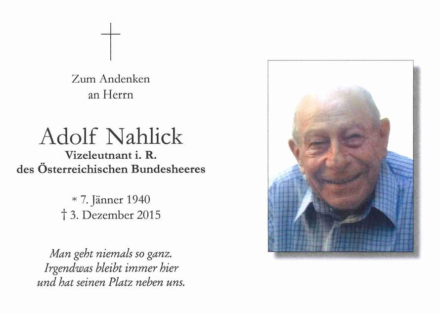 Adolf Nahlick