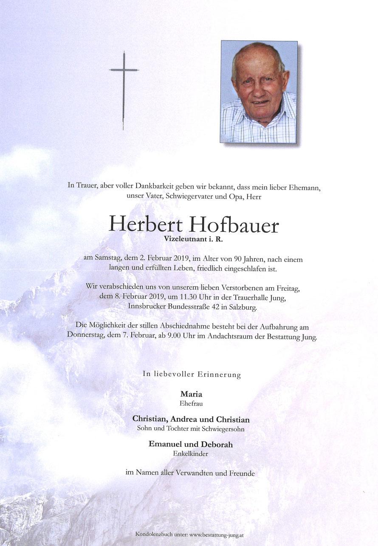 Herbert Hofbauer