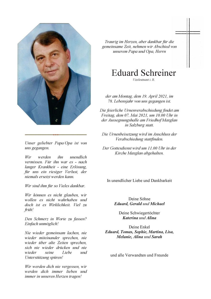 Eduard SCHREINER