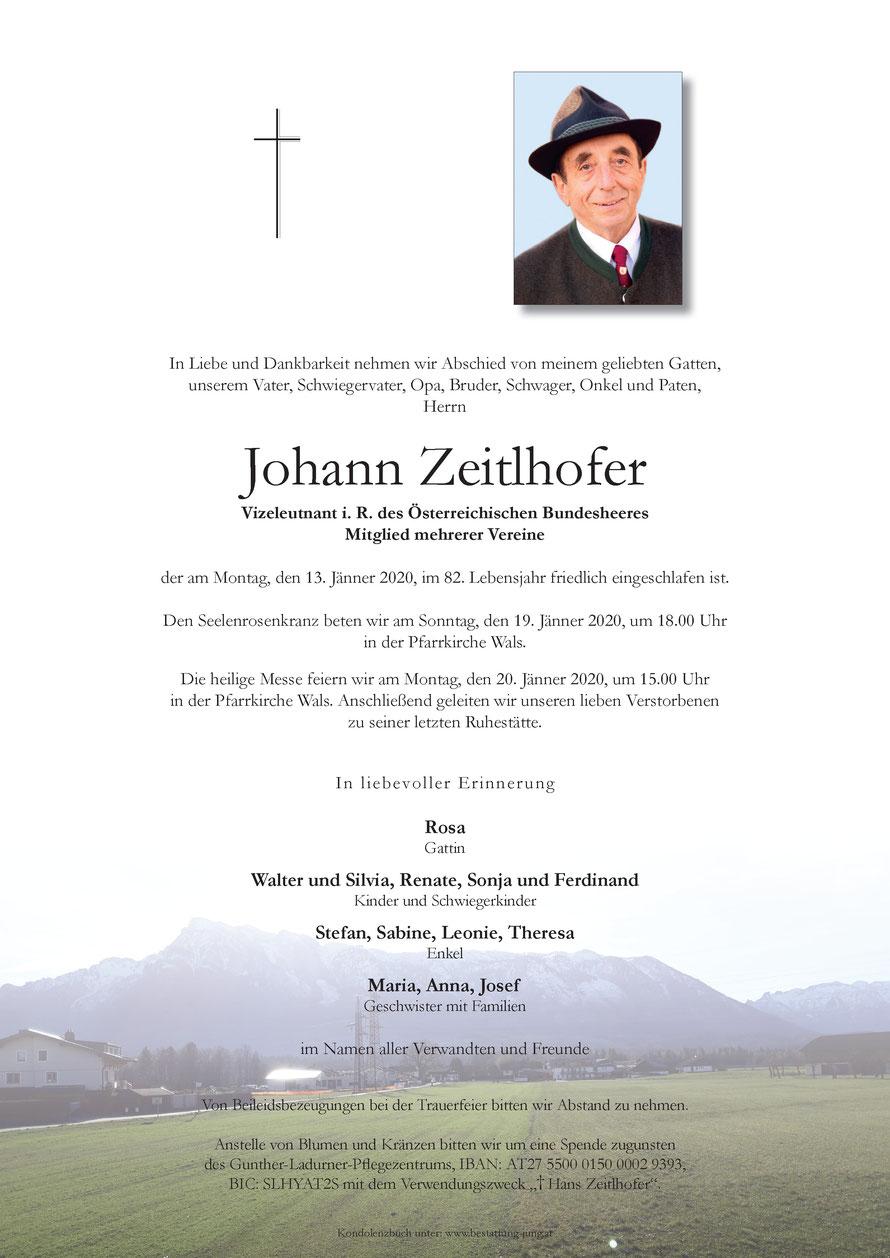 Johann ZEITLHOFER