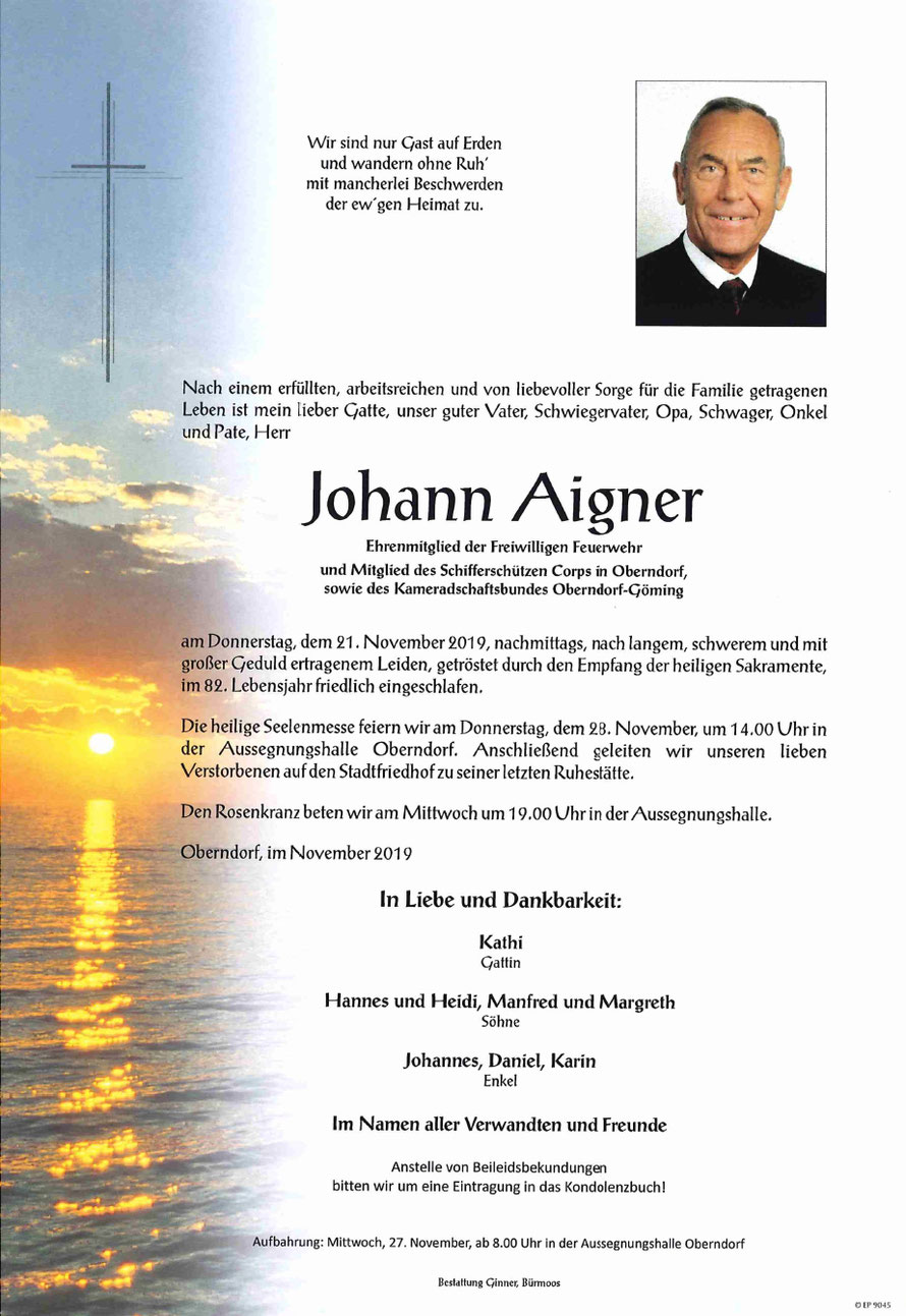 Johann AIGNER