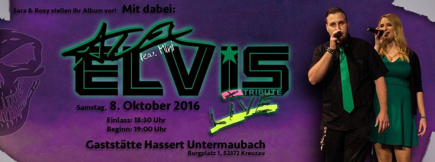 AlexElvis feat. Mini Live in Untermaubach
