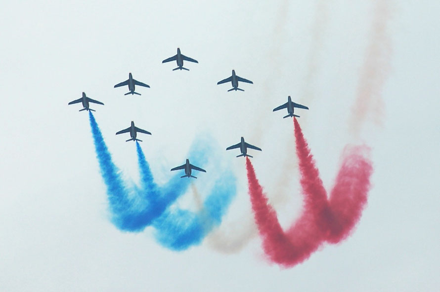 In Marseille am französischen Nationalfeiertag