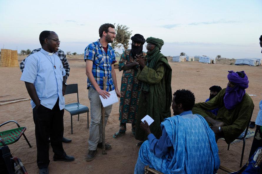 Flüchtlingscamp Mentao / Burkina Faso 2013