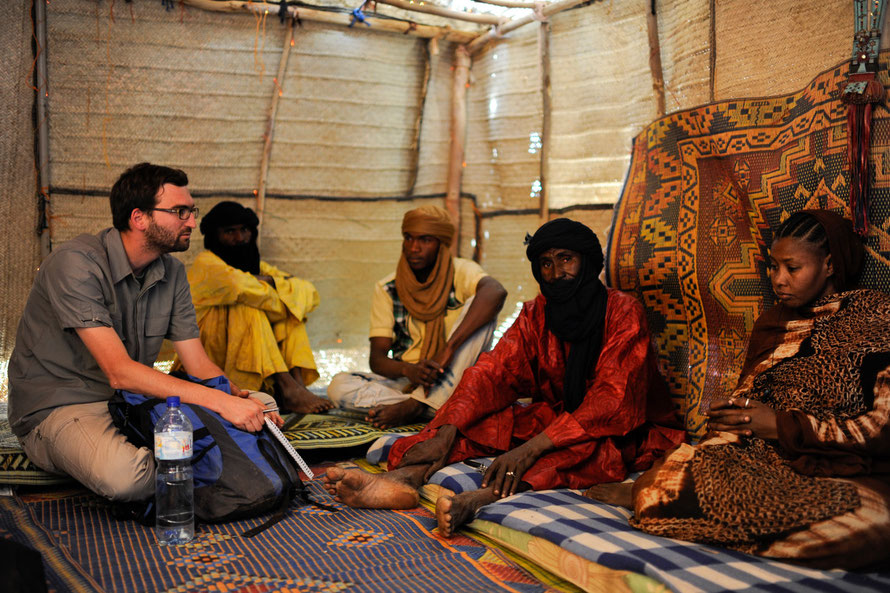 Camp des réfugiés, Goudebou / Burkina Faso 2013