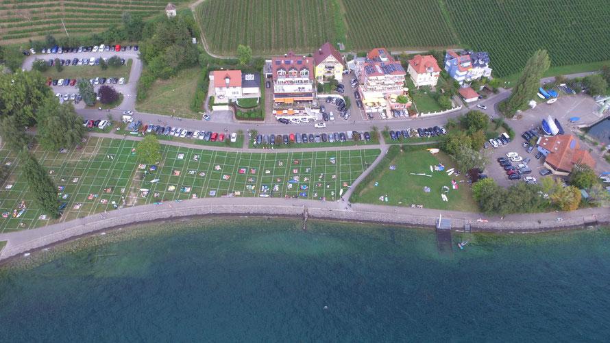 Bild: Ferienwohnung in Meersburg direkt am See mit Traumseeblick im Gelben Haus
