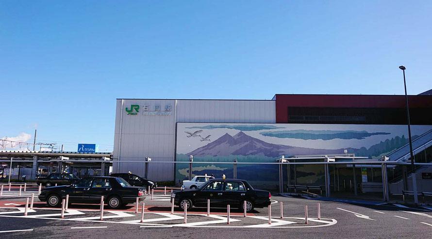 常磐線 JR石岡駅 茨城県