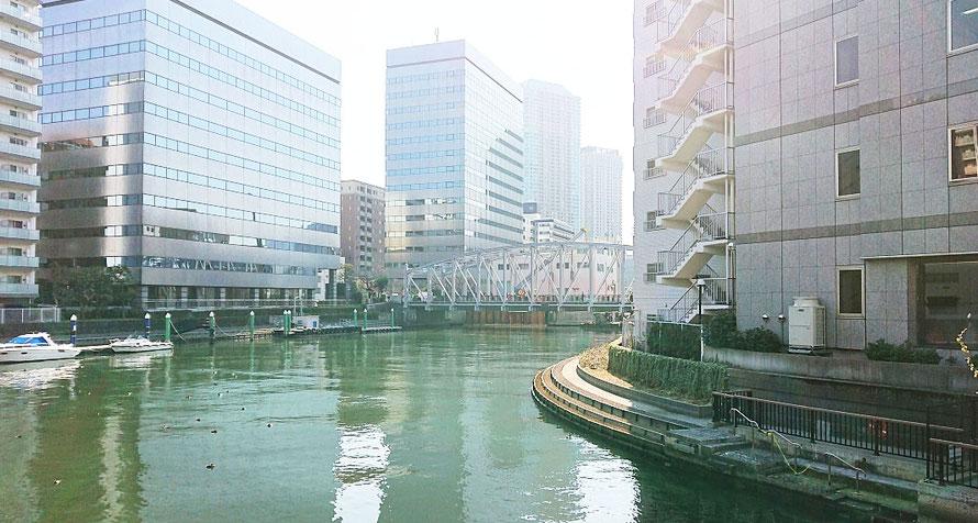 東京都 南高橋 亀島川