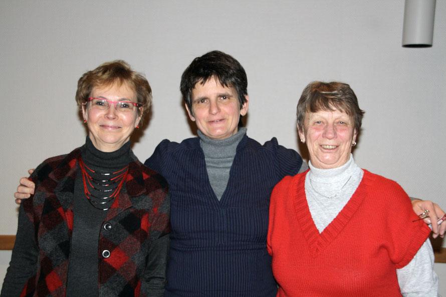 Revisionskommission: Monika, Ilka, Dagmar