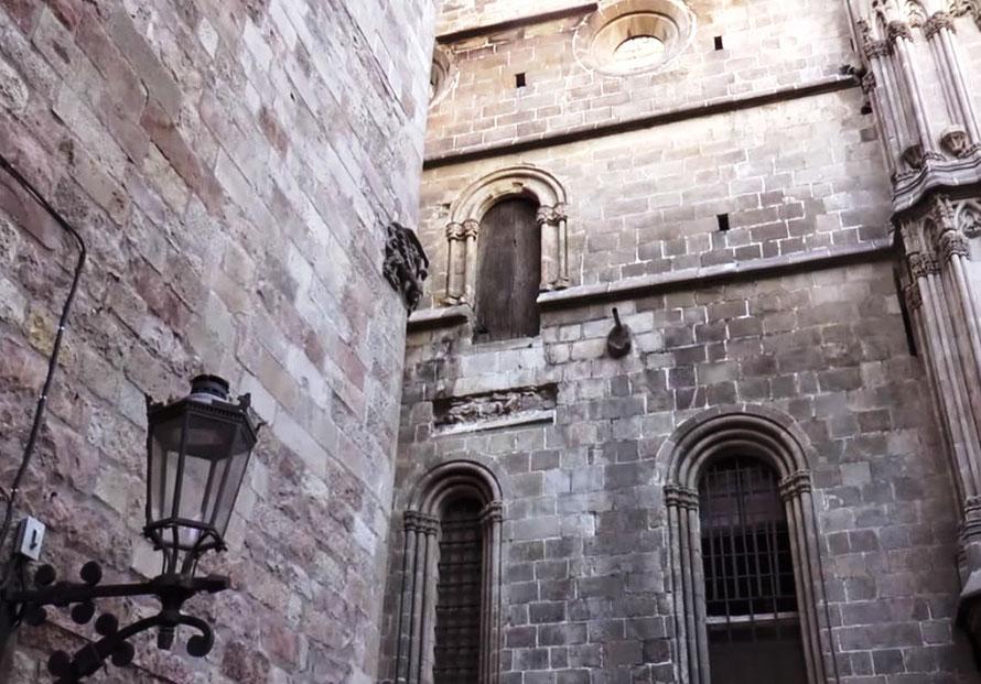 Секреты кафедрального собора Барселоны. Мост Короля Марти