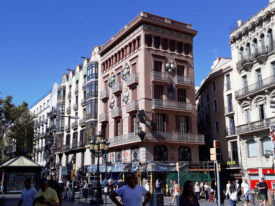 Дом бруно Квадраса в Барселоне