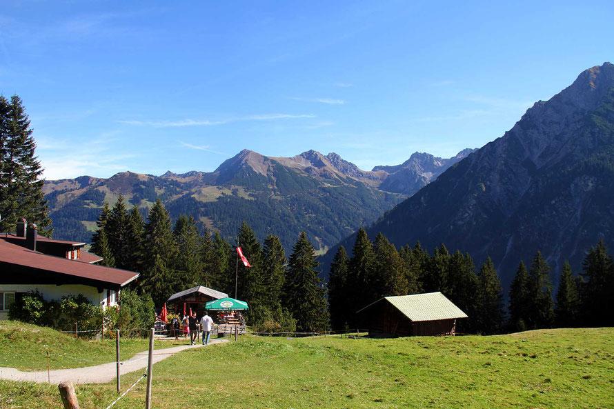 Berggasthof Bühlalpe im Kleinwalsertal