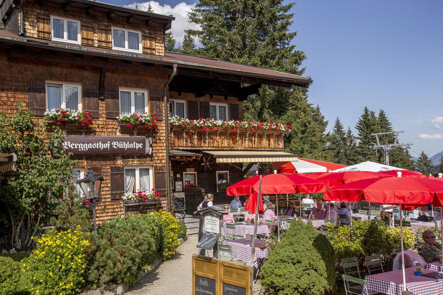 Herzlich Willkommen – Berggasthof Bühlalpe, Kleinwalsertal