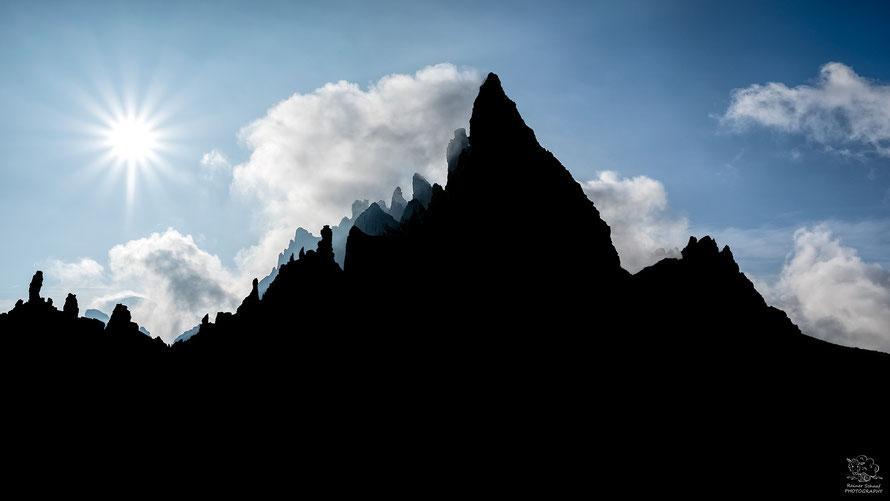 September 2021 - Dolomiten Sonnenaufgang (Nähe Drei Zinnen)