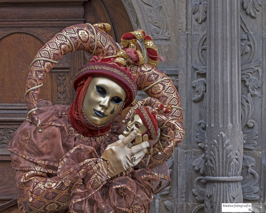Februar 2018 - Maskenträger HALLia VENEZia