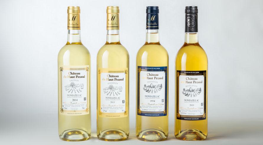 Monbazillac, château, Haut Pezaud, bergerac, oenotourisme, vin