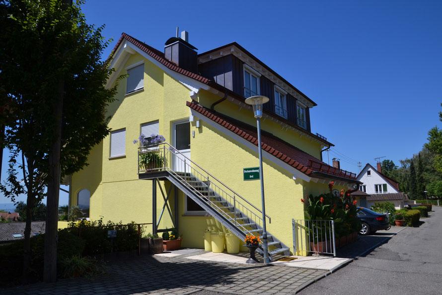 Ferienwohnung mit Seesicht in Meersburg am Bodensee