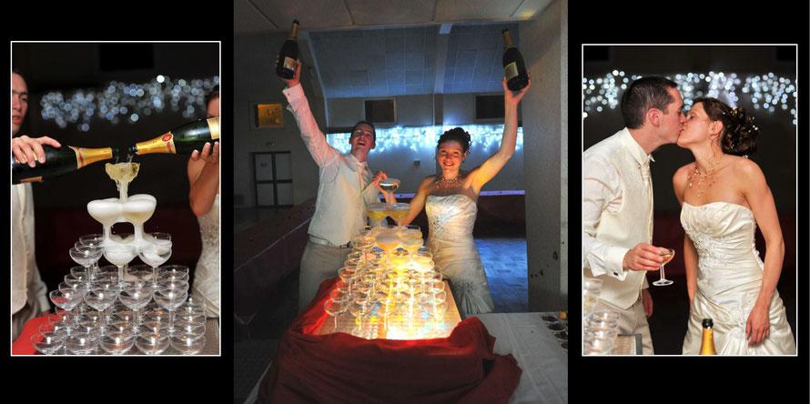 Photographie de mariage : la soirée du mariage suivie par le photographe stepharno-photos