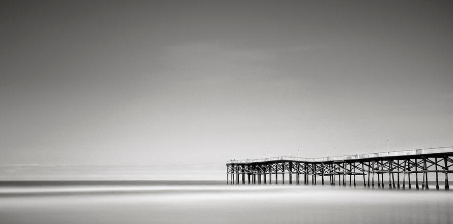 San Diego - Crystal Pier (Copyright Martin Schmidt, Fotograf für Schwarz-Weiß Fine-Art Architektur- und Landschaftsfotografie aus Nürnberg)