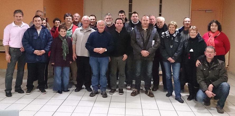 Membres présents à l'assemblée générale