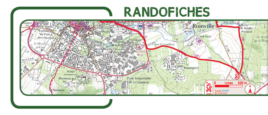 Carte Des Randofiches En Essonne Rando 91