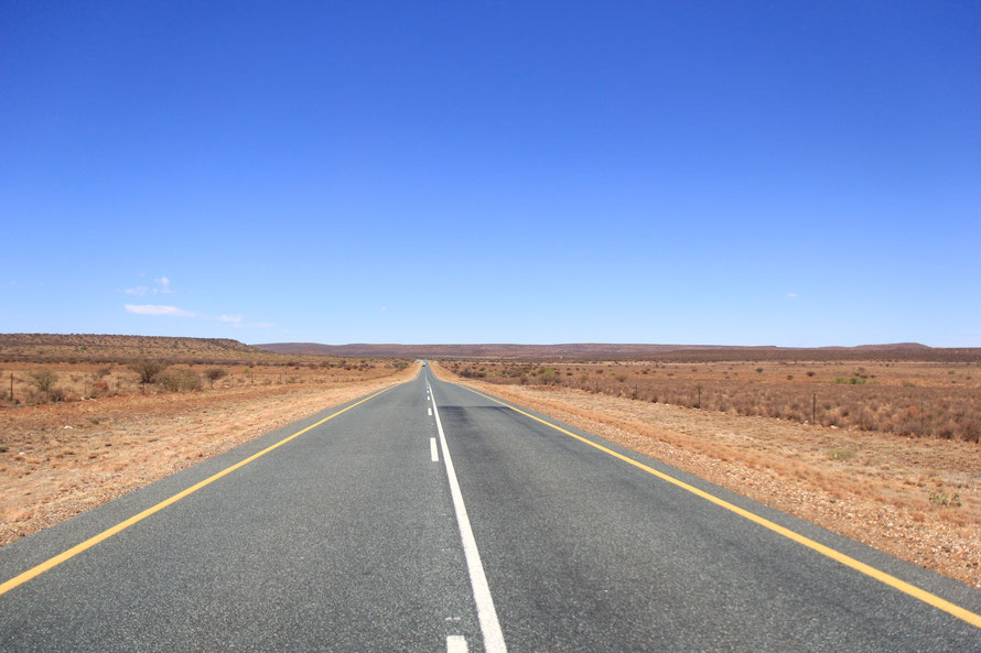 Route vers l'ouest