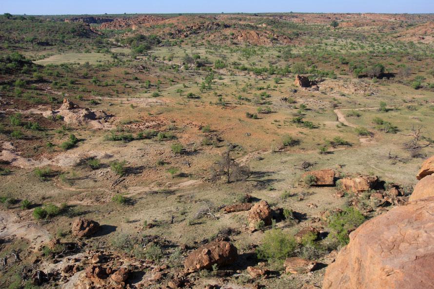 Panorama exceptionnel depuis le viewpoint principal du parc, l'aire de pique-nique.