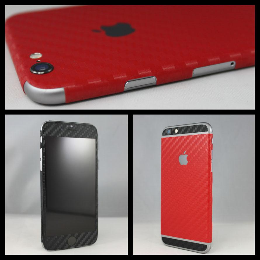 iPhone 6 Carbon Folie - Ab jetzt erhältlich!
