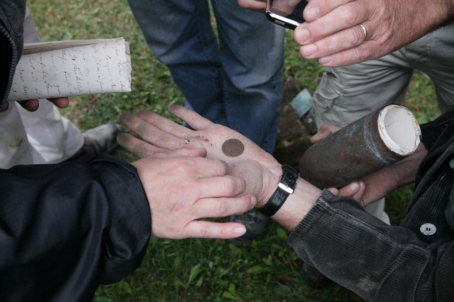 Unser Fund aus der Kreuzkugel