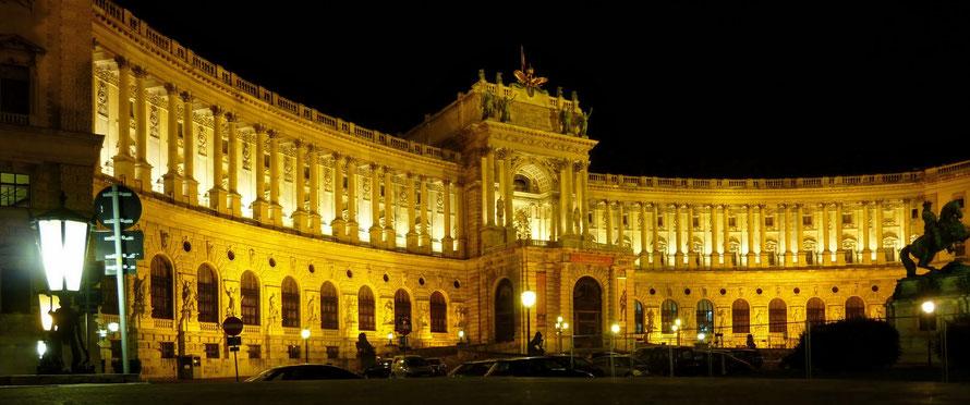 Vienne - Palais de Hofburg - Photo MHB/JPL