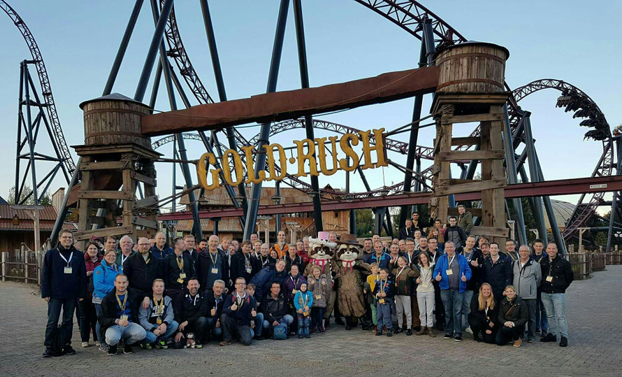 Groepsfoto Slagharen Fan Meeting (21-10-2017).