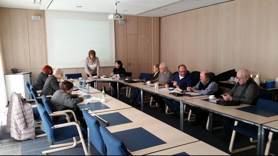 Arbeitstagung / Info-Workshop mit Mitgliedern der Landesseniorenvertretung im Rathaus Plettenberg