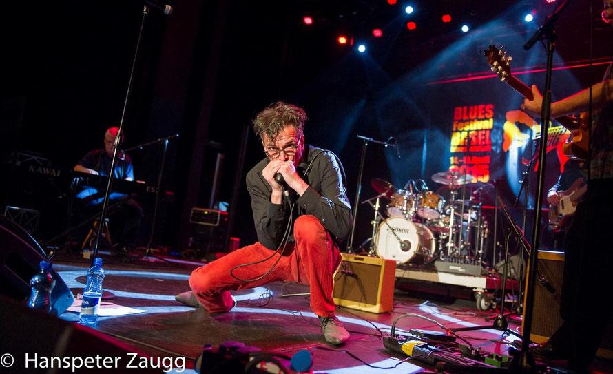 Ronny Kummer Blues Blues harp Harmonica Singer Bern Blues Festival Basel 51 Fifty One Blues Band