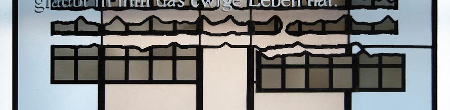 Andreasberg/Harz, Kath. Pfarrkirche St. Andreas (1992), Ausschnitt