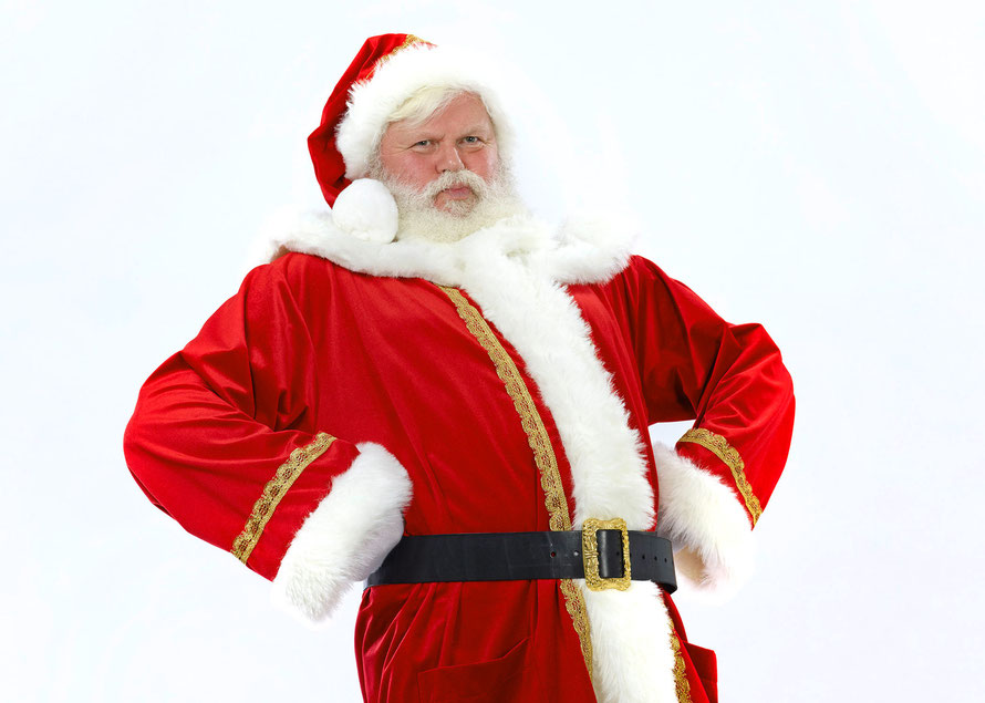 Rent a german Santa Claus for business events