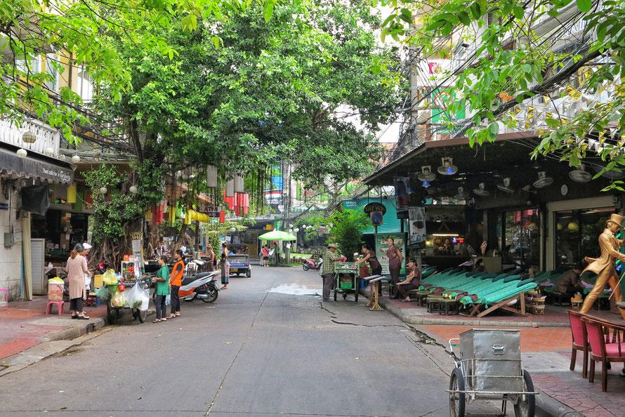 Parallelstraße zur Khao San Road