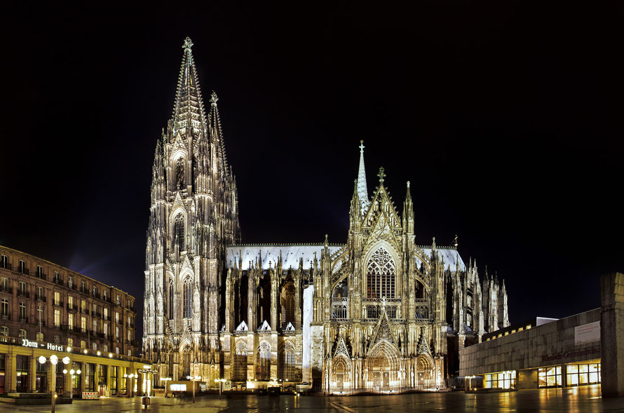 Kölner Dom @ night