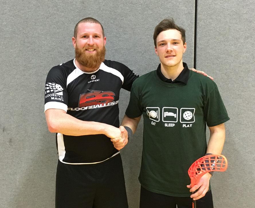 Floorball Mainz und VBC Olympia Ludwigshafen intensivieren ihre Kooperation