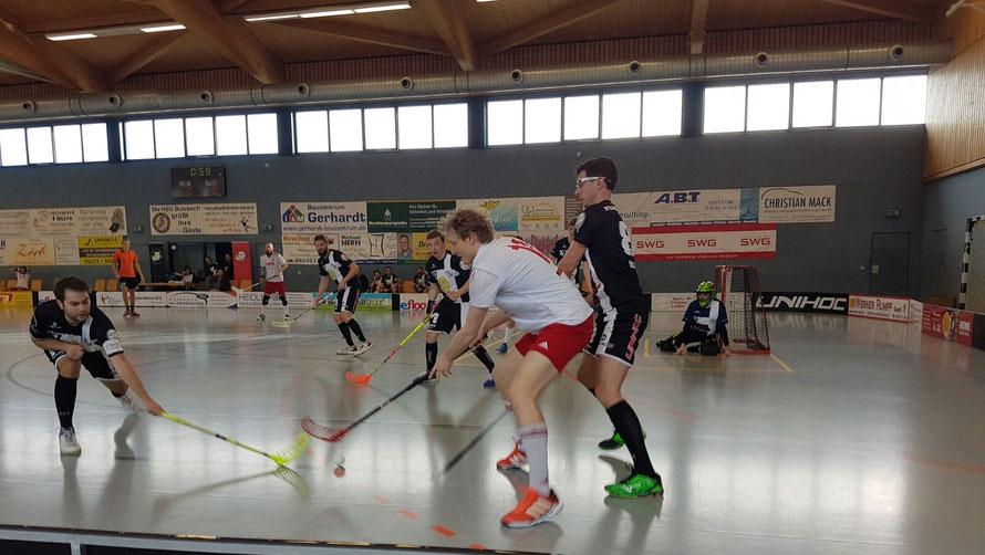 Floorball Mainz spielt in der Regionalliga West und macht sich da ganz gut