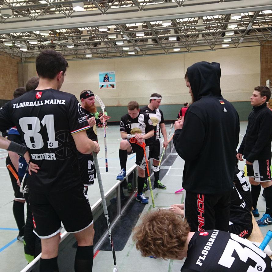 Floorball Mainz beendet die erste Saison in der Regionalliga auf Platz 5